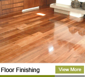 floor finishing job